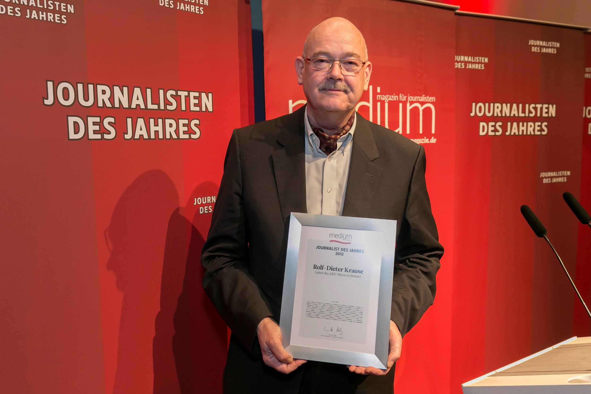 Wolf Schneider, ausgezeichnet für sein Lebenswerk