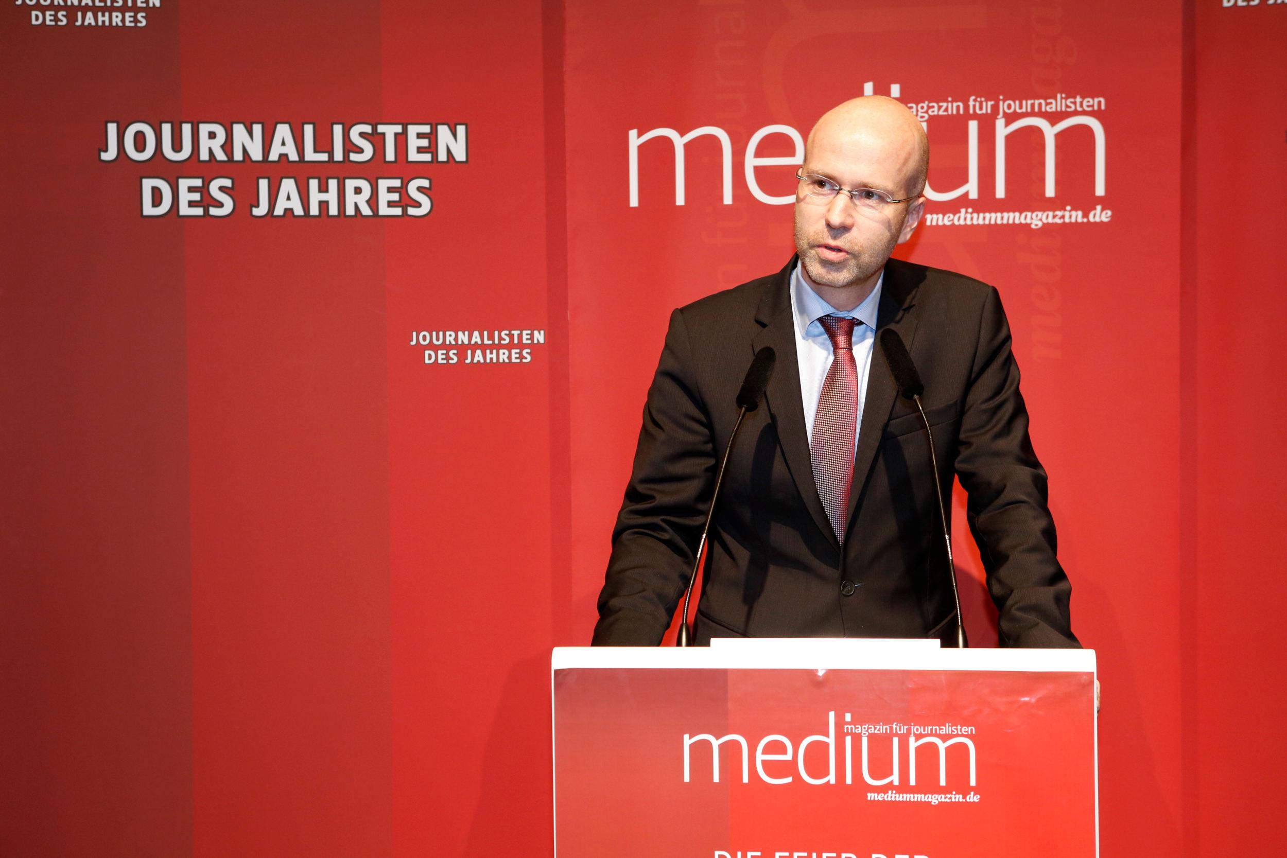 Jörg Eigendorf (WELT), Wirtschaftsredakteur des Jahres