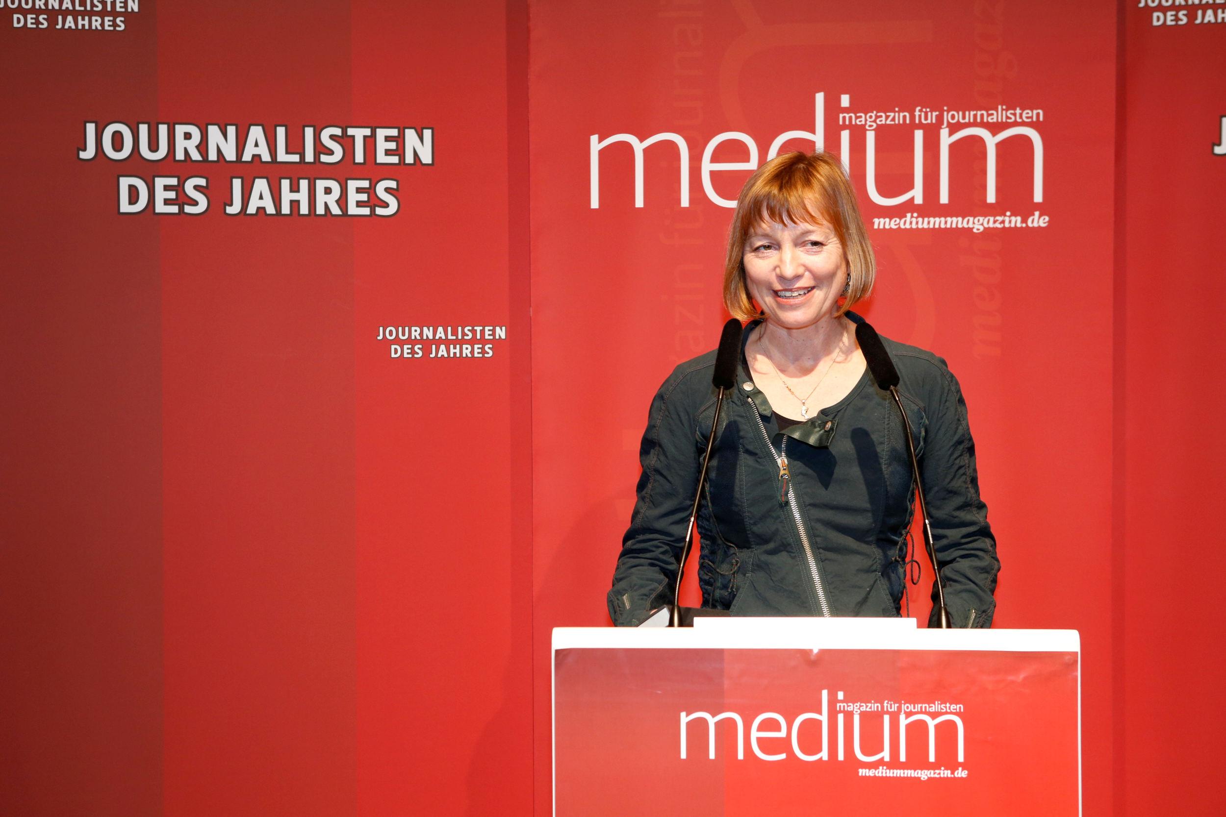 Evi Simeoni (FAZ), Sportjournalistin des Jahres 2012