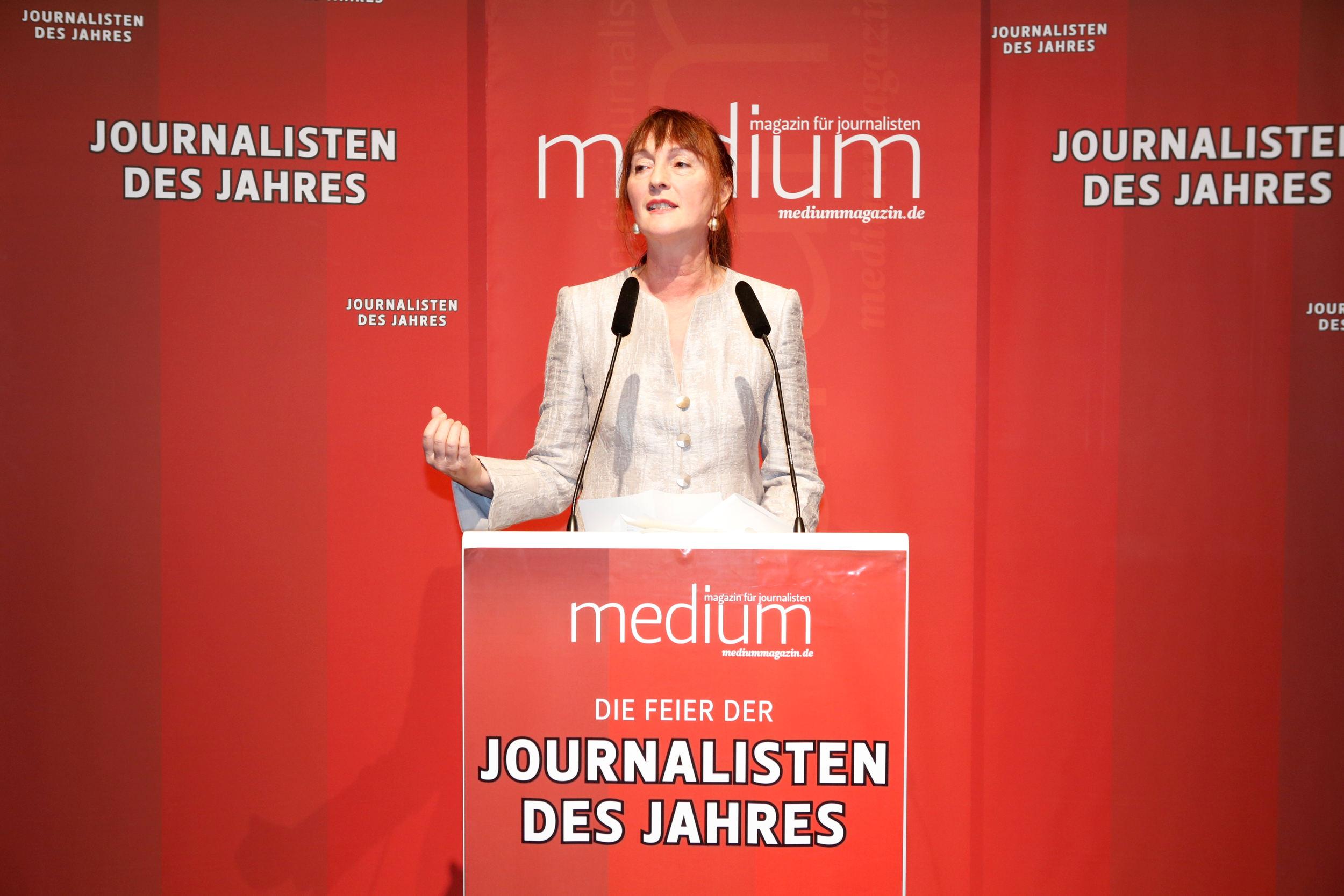 Sonia Seymour Mikich (WDR), Politik-Journalistin des Jahres 2012