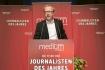 """DEU, Berlin, 03.02.2014, medium magazin, Feier und Preisverleihung an die """"Journalisten des Jahres 2013"""", Cafe im Zeughaus im Deutschen Historischen Museum, Th. Voigt (Metro),  [ (c) Wolfgang Borrs, Wiener Str. 11, D-10999 B e r l i n, Mobile +49.171.5332491, www.borrs.de, mail@borrs.de; ]"""