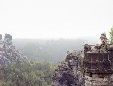 """Die Sächsische Schweiz aus """"Schauinsland"""" von Henning Rogge"""