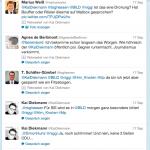 Twittergefecht im Wahlkampf
