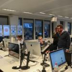 "Besprechung im ""Bild""-Newsroom - der jetzt umgebaut werden soll"
