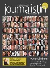 """Die Sonderedition """"Journalistin 2012"""" ist erschienen in mediummagazin 10-11/2012, Anfang Oktober. Alle Angaben: Stand 1.10.2012"""
