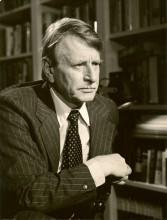 Klaus Harpprecht als Korrespondent in den USA, ca 1976. Foto Privat