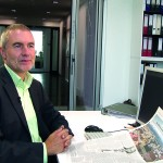 SZ-Reporter Klaus Ott in seinem Büro Foto:privat