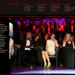 Die Jurymitglieder Helmut Markwort und Anja Reschke (Mitte), die die Ehrung zu gleichen Teilen an Bild und SZ begründeten. Foto: Screen Video stern.de