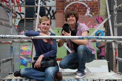 Sandra Breunig (links) und Corinna Klingler
