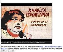 Radio Free Europe/Radio Liberty kämpft um seine inhaftierte Reporterin Khadija Ismayilova,