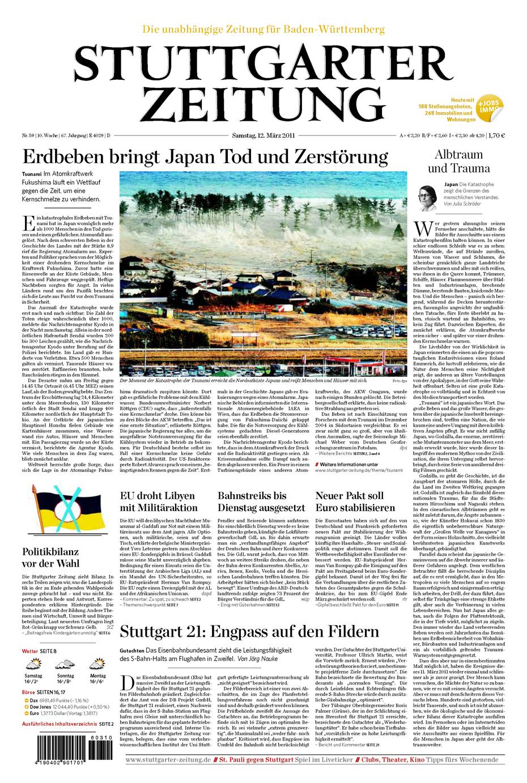 1986 2011 die katastrophen in tschernobyl und japan im for Zeitung spiegel