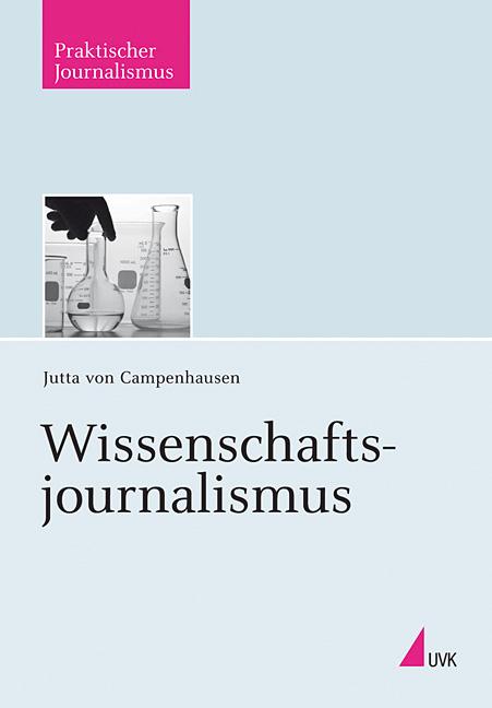 Cover: Wissenschaftsjournalismus von Jutta von Campenhausen