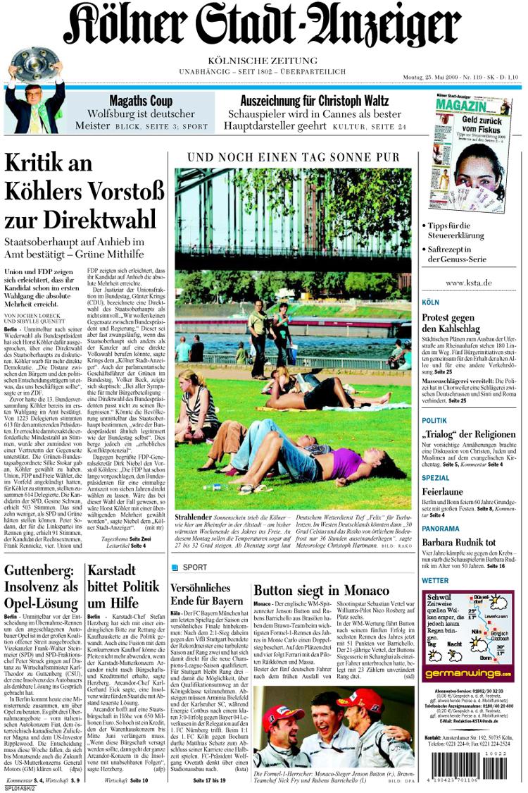 Kölner Stadtanzeiger Redaktion