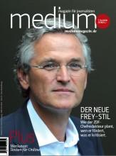 Das Cover von medium magazin 7-8/2010