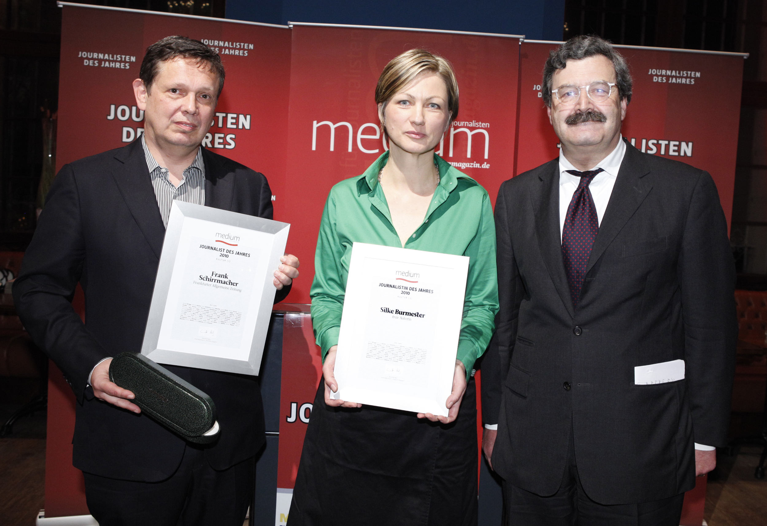 DEU, Berlin, 7.02.2011, medium magazin, Preisverleihung an die