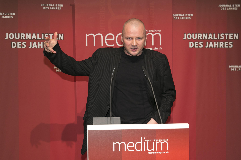 Der freie Autor und Rechercheur Jens Weinreich ist Sportjournalist des Jahres 2013
