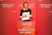 """DEU, Berlin, 23.02.2015, medium magazin, Feier und Preisverleihung an die """"Journalisten des Jahres 2014"""", Cafe im Zeughaus im Deutschen Historischen Museum, Nicola Kuhrt (Laudatorin), [ (c) Wolfgang Borrs, Wiener Str. 11, D-10999 B e r l i n, Mobile +49.171.5332491, www.borrs.de, mail@borrs.de; ]"""