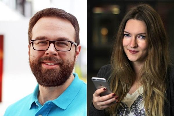 Tobias Stich und Lena Alt