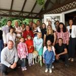 160. Geburtstag von Wolf (85 Jahre) und Lilo (75 Jahre) Schneider mit der ganzen Familie.