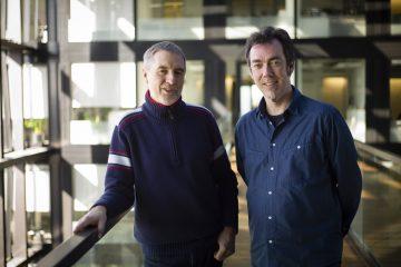 Klaus Ott (links) und Tom Soyer
