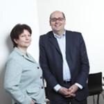 Ursula Weidenfeld und Michael Inacker. Fotos:Wolfgang Borrs